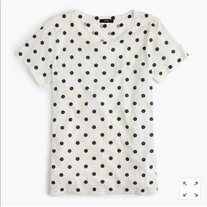 JCrew polka dot shirt